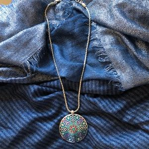 Brighton reversible necklace 18 in chain